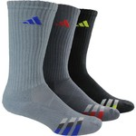 adidas™ Men's climalite® Color Crew Socks 3-Pair