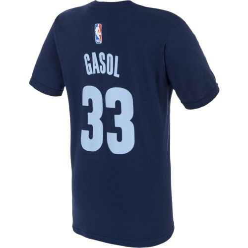 adidas™ Boys' Memphis Grizzlies Marc Gasol #33 Name and Number T-shirt