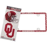 Stockdale University of Oklahoma Thin Rim License Plate Frame and Decals