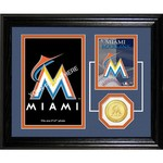 The Highland Mint Miami Marlins Fan Memories Photo Mint
