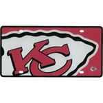 Stockdale Kansas City Chiefs Mega License Plate