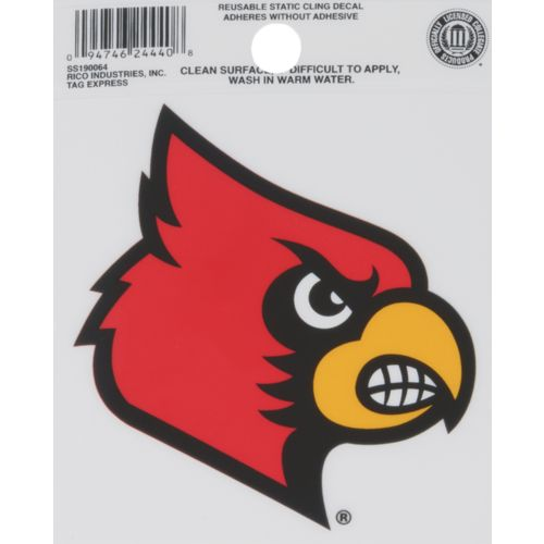 Rico University of Louisville Static Cling Decal - view number 1