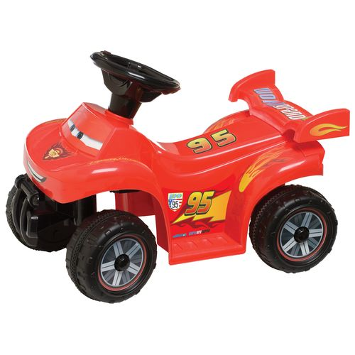KidTrax Boys' Disney Cars 2 6V Quad Ride-On