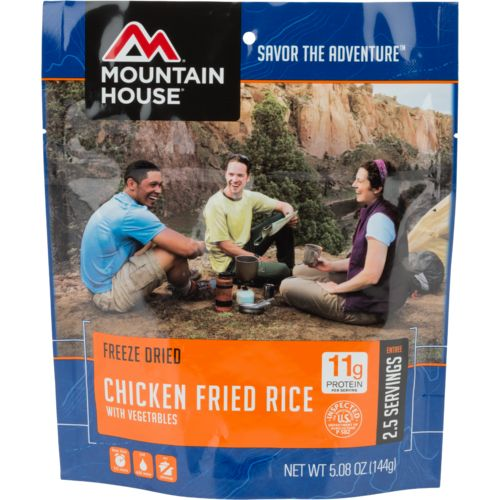 Mountain House® Freeze-Dried Chicken Fried Rice Pouch - view number 1