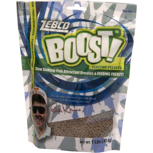 Display product reviews for Zebco Boost™ Ignitor Pellet Fish Attractant