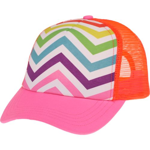 Display product reviews for O'Rageous® Girls' Chevron Print Trucker Hat