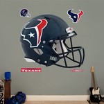 Fathead Houston Texans Real Big Helmet Decals