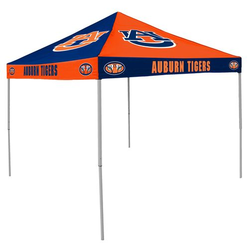Logo Auburn University Straight-Leg 9 ft x 9 ft Checkerboard Tent - view number 1