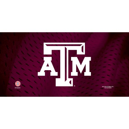 Rico Texas A&M University Metal Auto Tag