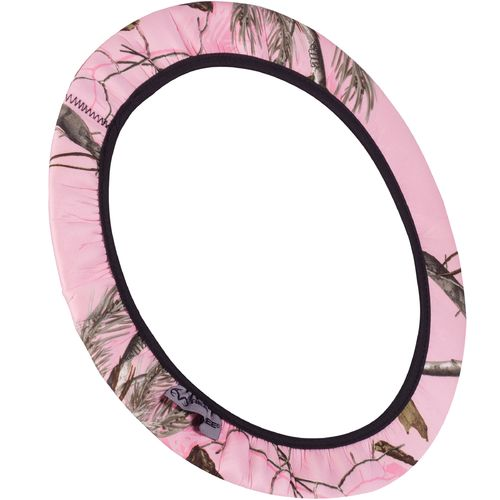 Realtree Pink Neoprene Steering Wheel Cover