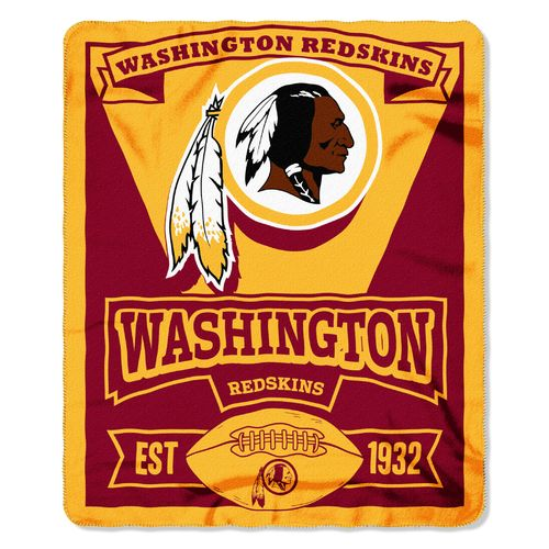 The Northwest Company Washington Redskins Marquee Fleece Throw
