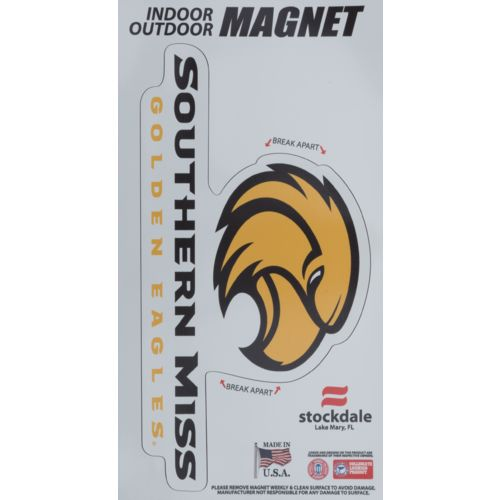 Stockdale University of Southern Mississippi Logo Magnets