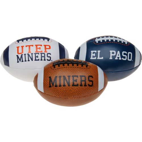 Rawlings® Boys' University of Texas at El Paso 3rd Down Softee 3-Ball Football Set - view number 1