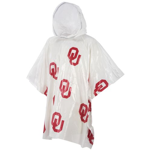 Storm Duds Men's University of Oklahoma Lightweight Stadium Rain Poncho