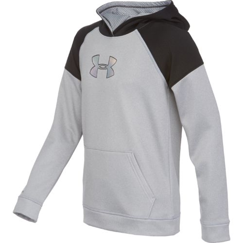 Under Armour® Boys' Storm Armour® Fleece Jacquard Hoodie