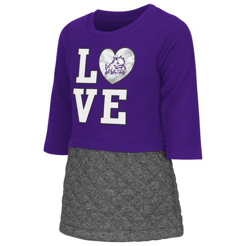Colosseum Athletics Toddler Girls' Texas Christian University Glitter Dress