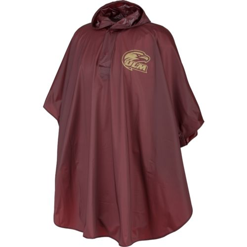 Storm Duds Men's University of Louisiana at Monroe Slicker Heavy Duty PVC Poncho