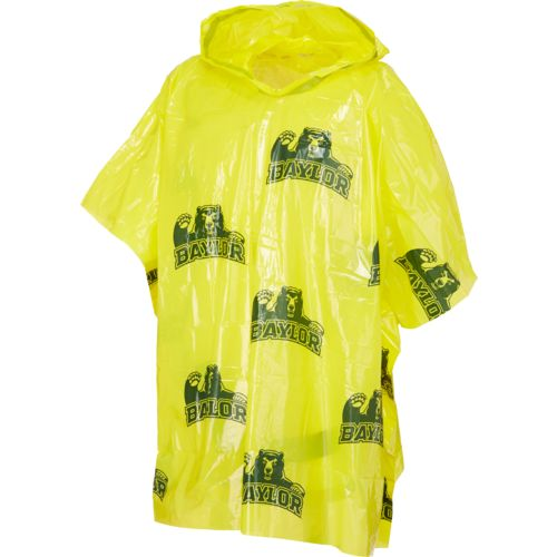 Storm Duds Men's Baylor University Lightweight Stadium Rain Poncho