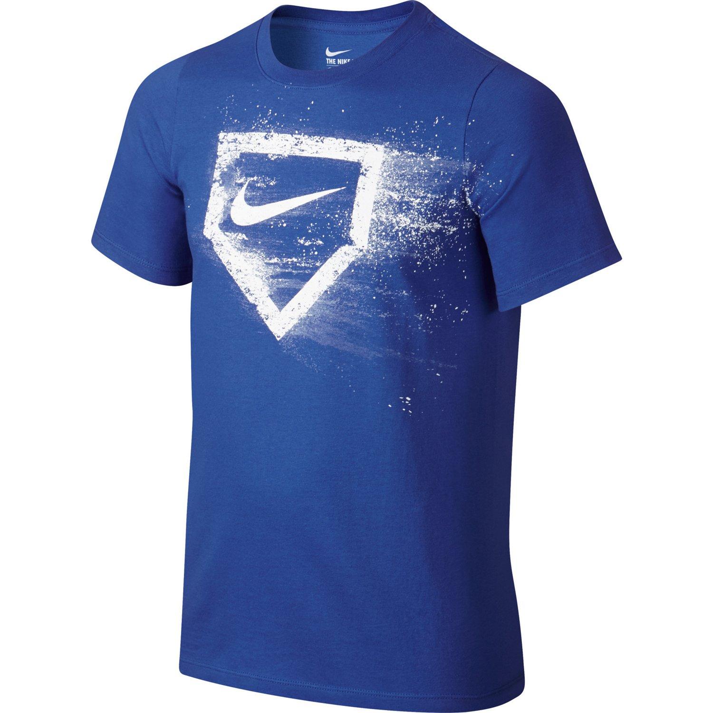 Nike Boys' Baseball Plate Short Sleeve T-shirt   Academy