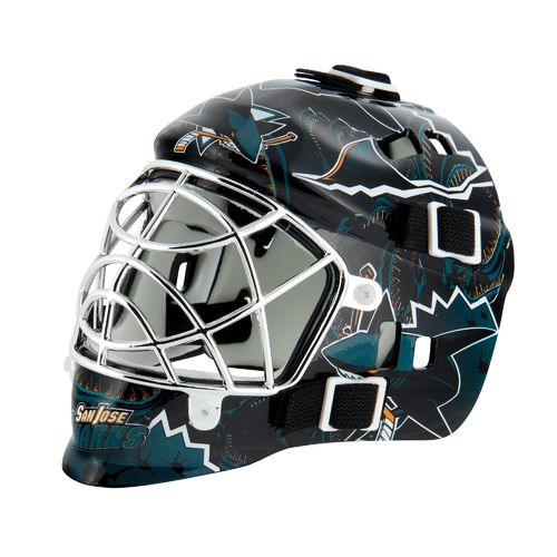 Franklin NHL Team Series San Jose Sharks Mini Goalie Mask