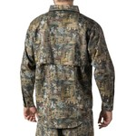 Walls Men's Oilfield Camo Cape Back Long Sleeve Shirt - view number 2