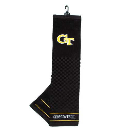 Team Golf Georgia Tech Embroidered Towel