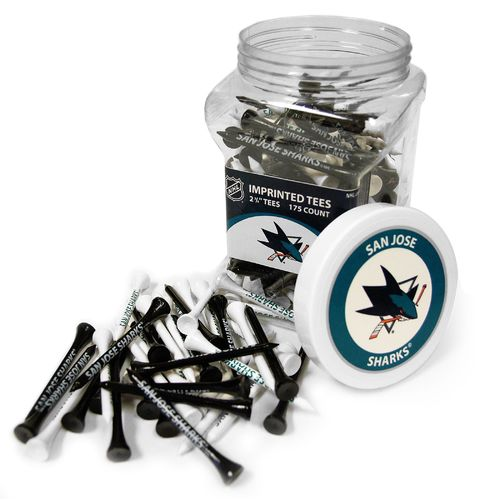 Team Golf San Jose Sharks Tees 175-Pack