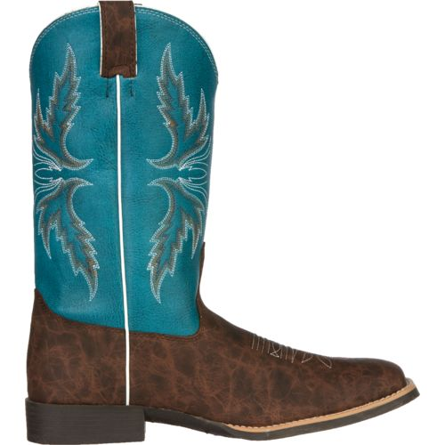 Justin Kids' Cowhide Bent Rail® Western Boots