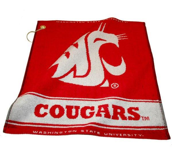 Team Golf Washington State University Woven Towel