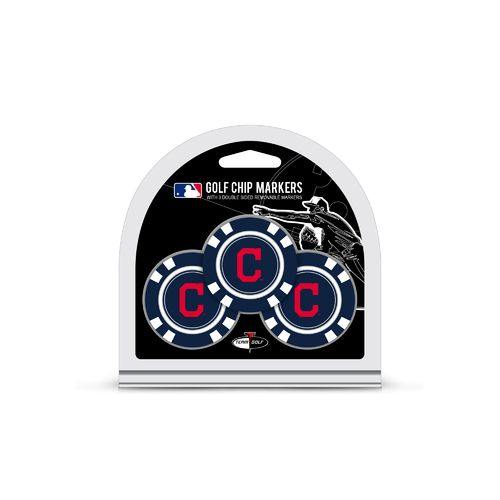 Team Golf Cleveland Indians Poker Chip and Golf
