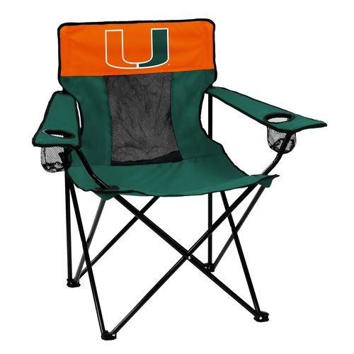 Logo™ University of Miami Elite Chair - view number 1