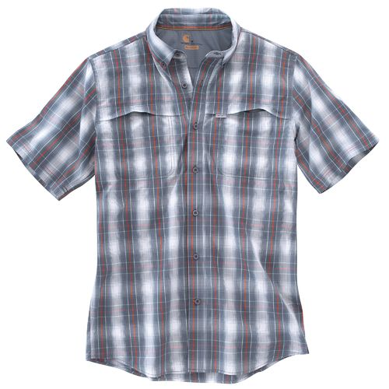 Carhartt Men's Force Mandan Button Down Short Sleeve