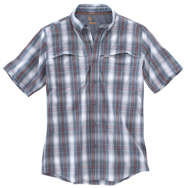 Carhartt Men's Force Mandan Button Down Short Sleeve Shirt