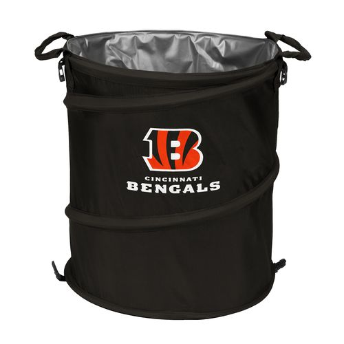 Logo™ Cincinnati Bengals Collapsible 3-in-1 Cooler/Hamper/Wastebasket