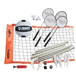 Triumph Sports USA Advanced Volleyball/Badminton Combo Set