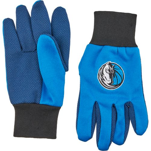 Team Beans Adults' Dallas Mavericks 2-Color Utility Gloves