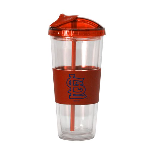 Boelter Brands St. Louis Cardinals 22 oz. No-Spill Straw Tumblers 2-Pack