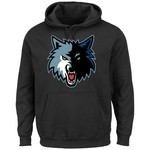 Majestic Men's Minnesota Timberwolves Tek Patch™ Hoodie - view number 1