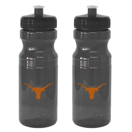 Boelter Brands University of Texas 24 oz. Squeeze Water Bottles 2-Pack