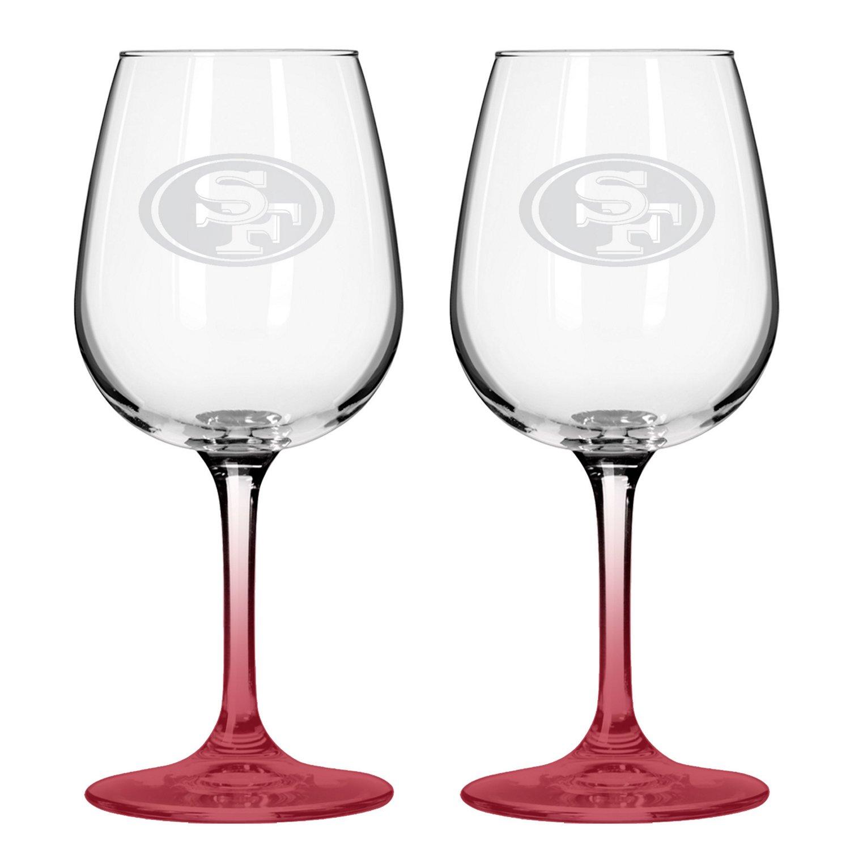 Boelter Brands San Francisco 49ers 12 oz. Wine