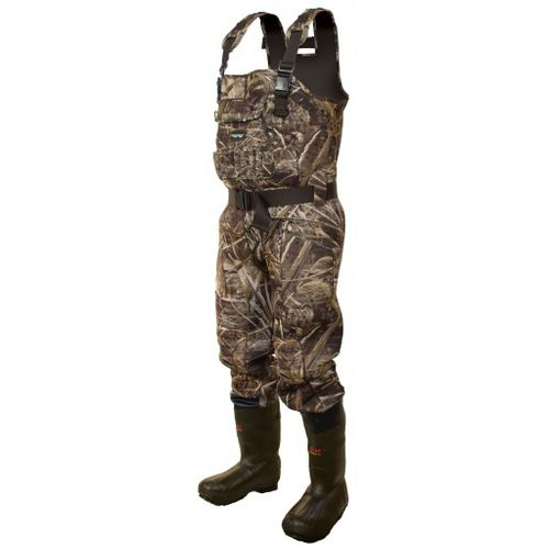 frogg toggs® Men's BullToggs Bull Hide Neoprene Realtree Max-5® Cleated Boot Foot Ches