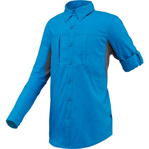 Display product reviews for Magellan Outdoors Boys' Falcon Lake Long Sleeve Fishing Shirt