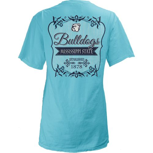Three Squared Juniors' Mississippi State University Flora T-shirt