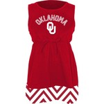 Klutch Apparel Toddlers' University of Oklahoma Chevron Dress