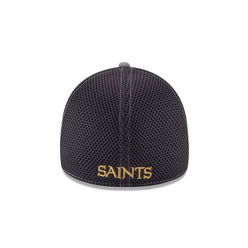 New Era Men's New Orleans Saints Grayed Out Neo 39THIRTY Cap - view number 2