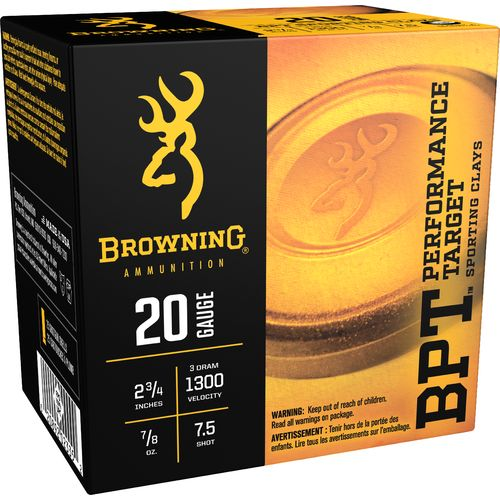 Browning Performance Target Sporting Loads 20 Gauge Shotshells