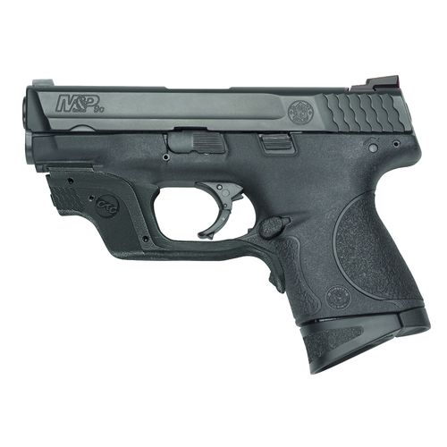 Smith & Wesson M&P9c Crimson Trace Green Laserguard 9mm Handgun
