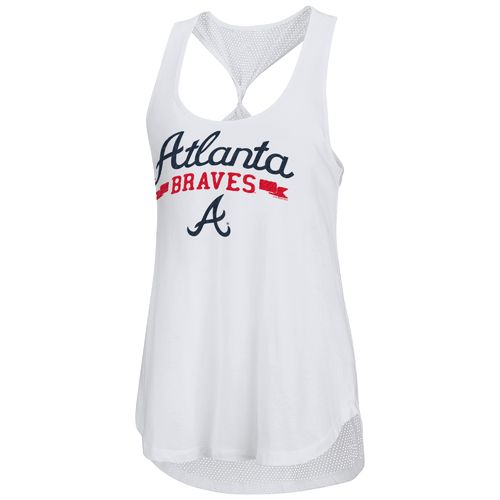Touch by Alyssa Milano Women's Atlanta Braves Short Stop Tank Top
