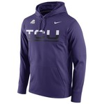 Nike Men's Texas Christian University Circuit Pullover Hoodie