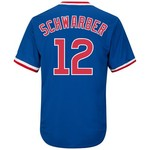 Majestic Men's Chicago Cubs Kyle Schwarber #12 Cooperstown Replica Jersey